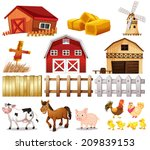 illustration of the things and... | Shutterstock . vector #209839153