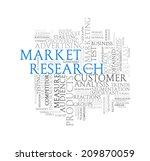 illustration of wordcloud word... | Shutterstock . vector #209870059