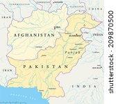 Pakistan Map stock illustrations - keyword analysis for