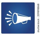 megaphone | Shutterstock .eps vector #209898868