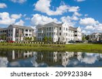 apartments and condos with... | Shutterstock . vector #209923384