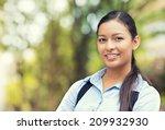 closeup headshot portrait ... | Shutterstock . vector #209932930
