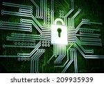 conceptual image of micro... | Shutterstock . vector #209935939
