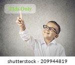 closeup portrait happy  smiling ... | Shutterstock . vector #209944819