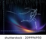 geometry of man series.... | Shutterstock . vector #209996950