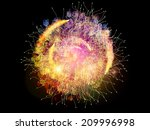 conceptual particle series.... | Shutterstock . vector #209996998