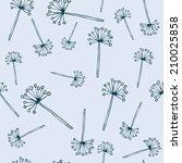 seamless vector floral pattern   Shutterstock .eps vector #210025858