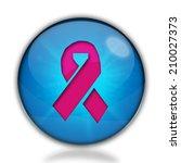 breast cancer ribbon icon.... | Shutterstock . vector #210027373