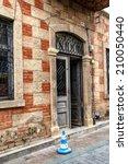 Ablaq Style Brick And Concrete...