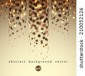 vector abstract background with ... | Shutterstock .eps vector #210052126