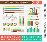 infographic design elements....   Shutterstock .eps vector #210078040