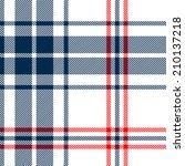 tartan traditional checkered... | Shutterstock .eps vector #210137218