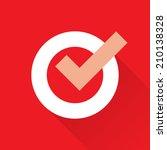 check mark icon | Shutterstock .eps vector #210138328