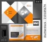 geometric business vector... | Shutterstock .eps vector #210185674