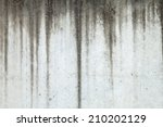 Texture Of Grey Concrete Wall...