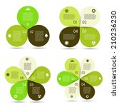 Vector Circle Eco Infographics...