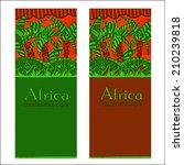 african landscape.southern... | Shutterstock .eps vector #210239818