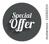 special offer sign icon. sale...