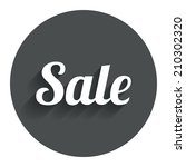 sale sign icon. special offer...