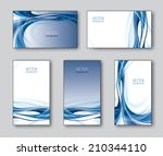 vector collection of business... | Shutterstock .eps vector #210344110
