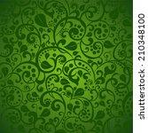 green background. vector...   Shutterstock .eps vector #210348100