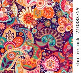 Bright Seamless Pattern In...
