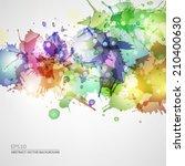 vector blots background   Shutterstock .eps vector #210400630