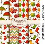 Set Of Autumn Backgrounds....