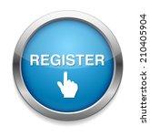 register button | Shutterstock .eps vector #210405904