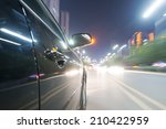 car on the road with motion... | Shutterstock . vector #210422959