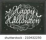 Vintage Halloween Background...