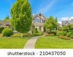 luxury house in vancouver ... | Shutterstock . vector #210437050