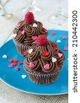 Chocolate Cupcakes Decorated...
