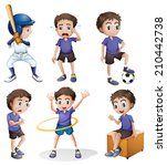 illustration of the different... | Shutterstock . vector #210442738