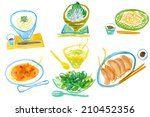 an image of cooking | Shutterstock . vector #210452356