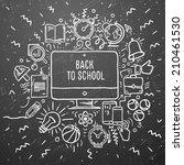 Freehand Chalk Drawing School...