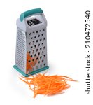 Carrot And Grater For...