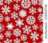 christmas seamless pattern of... | Shutterstock . vector #210503746