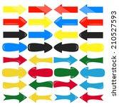set of arrows | Shutterstock .eps vector #210527593