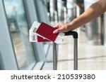 closeup of man holding... | Shutterstock . vector #210539380