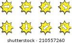 arrow sign icon | Shutterstock .eps vector #210557260