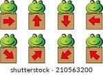 arrow sign icon | Shutterstock .eps vector #210563200