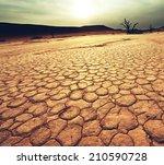 dead valley in namibia | Shutterstock . vector #210590728