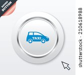 taxi car sign icon. hatchback...
