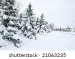 seasonal  winter theme  snow... | Shutterstock . vector #21063235