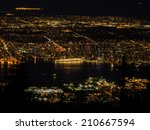 Vancouver Night View From The...
