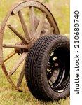 New And Old Broken Wagon  Car ...