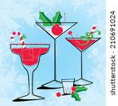 Retro Style Holiday Cocktails...