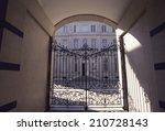 an image of gate | Shutterstock . vector #210728143
