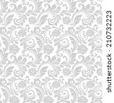 floral pattern. wallpaper... | Shutterstock . vector #210732223
